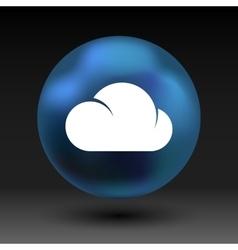 Cloud icon sharing network bin lock forward key vector