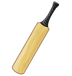 Cricket bat vector