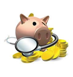 financial health check concept vector image