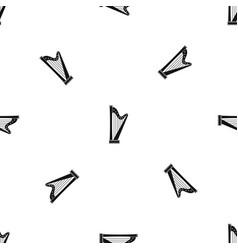 Harp pattern seamless black vector