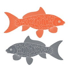 Koi fish carp koi vector