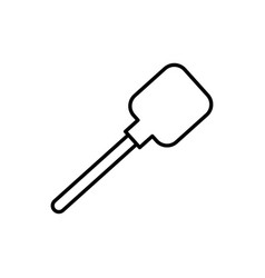 Spatula icon vector