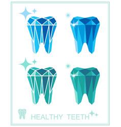 Tooth symbol set vector