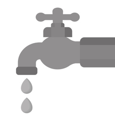 Classic faucet icon image vector