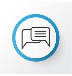 Messaging icon symbol premium quality isolated vector