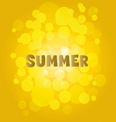 summer side side drawing vector image vector image