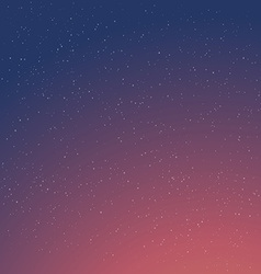 Cartoon retro night sky with stars background vector