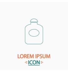 Perfume computer symbol vector