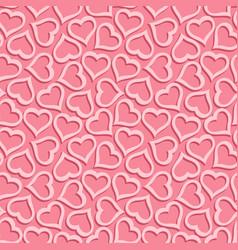 Seamless romantic pattern vector