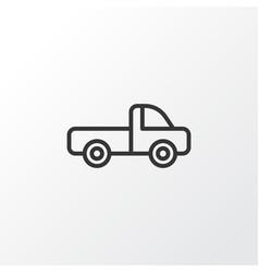 Pickup icon symbol premium quality isolated vector