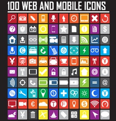 Website icons collection vector