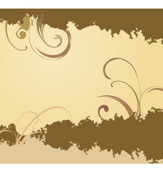 Earthy background vector