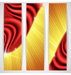 Abstract Colorful banner vector image