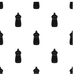 dishwashing soap icon in black style isolated on vector image vector image