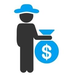 Person investor icon vector