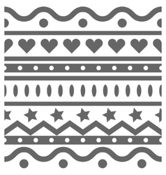 Horizontal seamless pattern vector