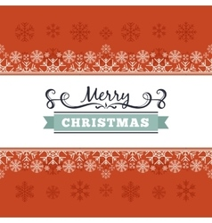 christmas decorating design made of vector image vector image