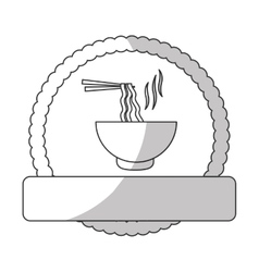fast food related icon image vector image vector image