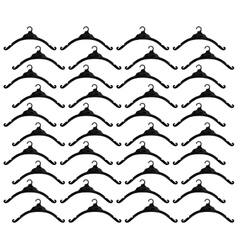 Hook clothes hanger seamless pattern vector