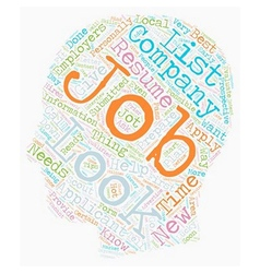 Learn how and where to look for jobs dlvy vector