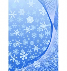 new year abstract blue background vector image vector image