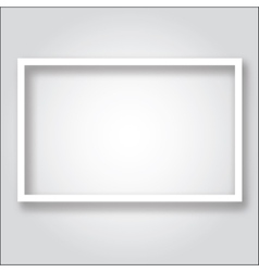 Paper frame template vector