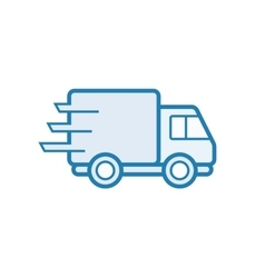 Parcel delivery service vector image