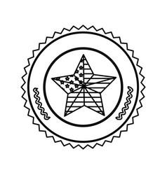 symbol american seal sign icon vector image vector image