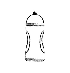 Thermo sport bottle vector
