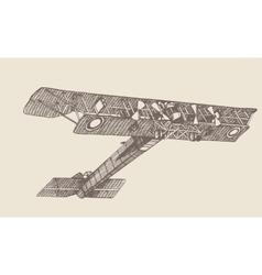 plane Ilya Muromets vector image