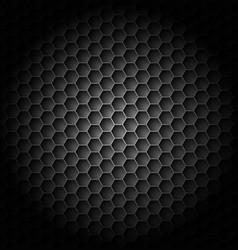 realistic black carbon for creative design vector image