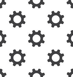 Settings seamless pattern vector
