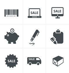 Hopping icons vector