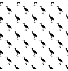 Stork pattern seamless vector