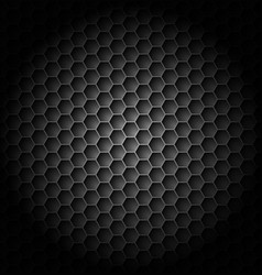 realistic black carbon for creative design vector image