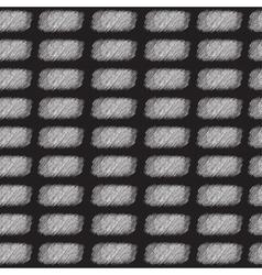 Seamless rectangle pattern skribbles vector image vector image