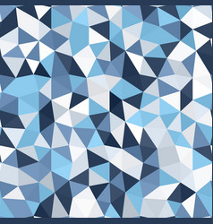 Triangle polygonal mosaic pattern seamless vector
