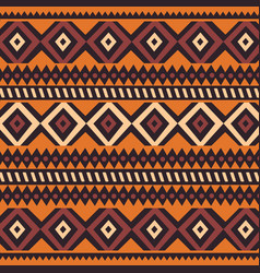 Tribal ethnic colorful bohemian pattern vector