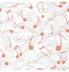 Music note paper texture vector