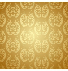 floral vector background vector image