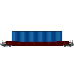 Container train vector