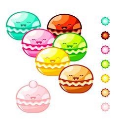 Macarons vector