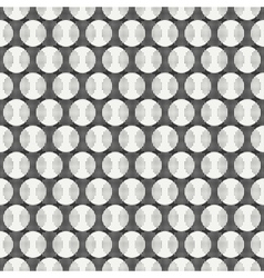 Retro memphis geometric line shapes seamless vector image