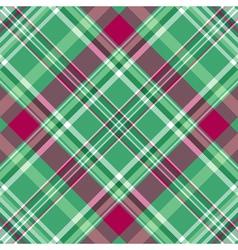 Seamless green-purple checkered pattern vector