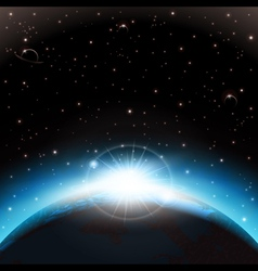 Space background vector