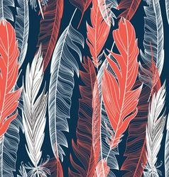 Beautiful seamless graphic pattern vector