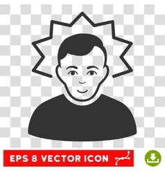 Inventor eps icon vector