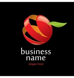 Logo apple vector