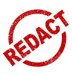 Redact vector
