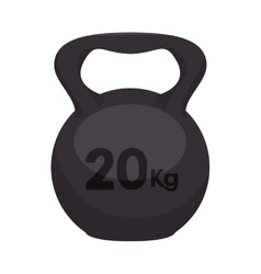 Dumbbell weights equipment vector